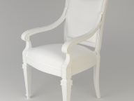 chair03_classic_clay_yafaray01